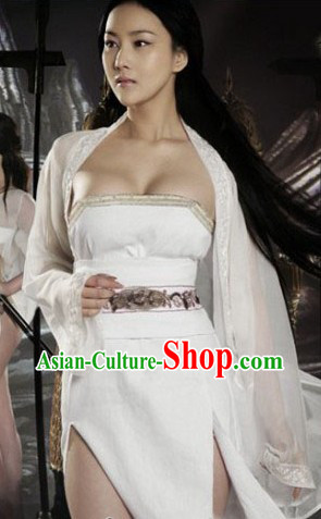 Ancient Chinese White Costumes for Women