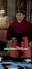 Ancient Chinese Qin Palace Servant Costumes for Men