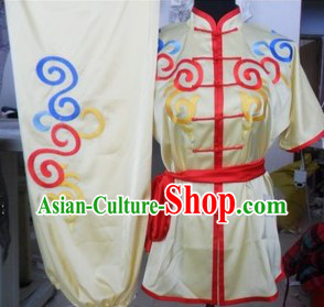 Traditional Chinese Short Sleeves Kung Fu Uniforms