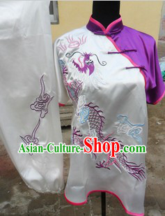 Traditional Chinese Short Sleeve Kung Fu Southern Fist Uniforms