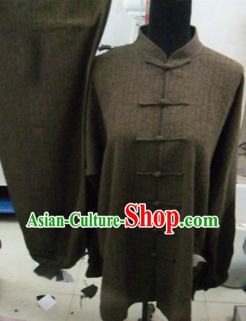 Traditional Chinese Kung Fu Cotton Uniforms