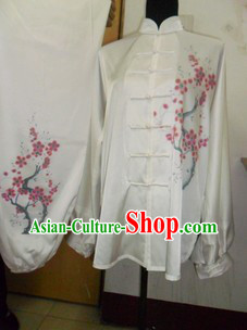 Traditional Chinese White Silk Martial Arts Supplies