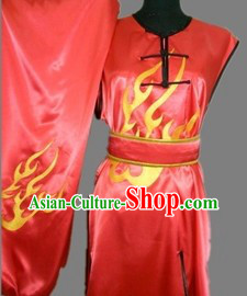 Traditional China Dragon Sleeveless Kung Fu Uniforms for Men