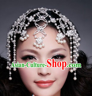 Chinese Classic Bridal Wedding Headdress