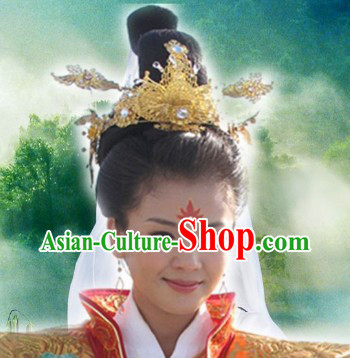 Chinese Goddess Matsu of the Sea Hair Accessories
