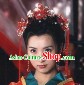 Traditional Chinese Brides Wedding Headpieces
