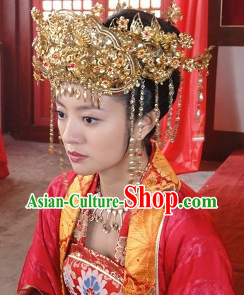 Traditional Chinese Wedding Crown