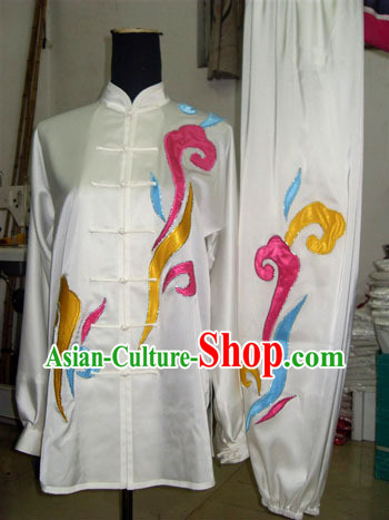 White Martial Arts Tai Ji Clothes