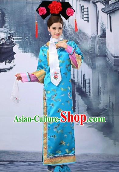 China Qing Dynasty Princess Clothing