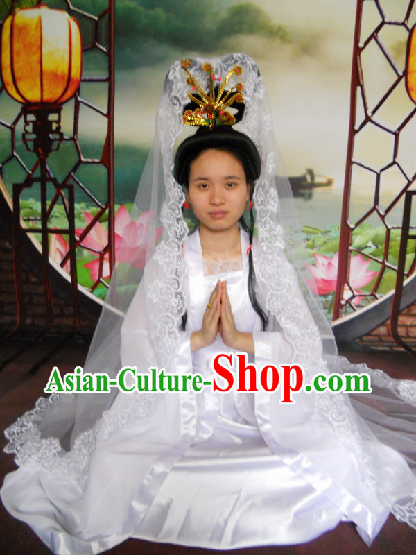 Ancient Chinese Legend Guan Yin Budda Parade Costumes