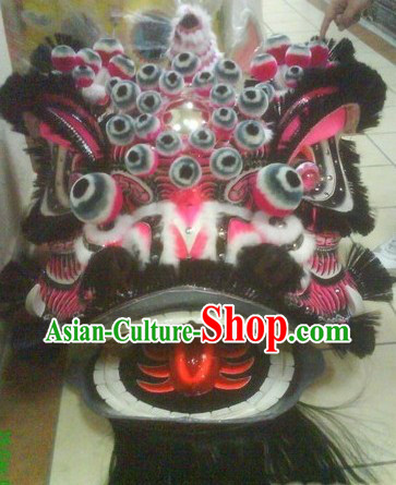 Many Pom Poms Lion Dance Supplies Head for Sale