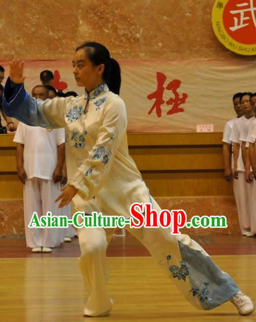 Traditional Chinese Tai Chi Mandarin Kung Fu Suit for Women