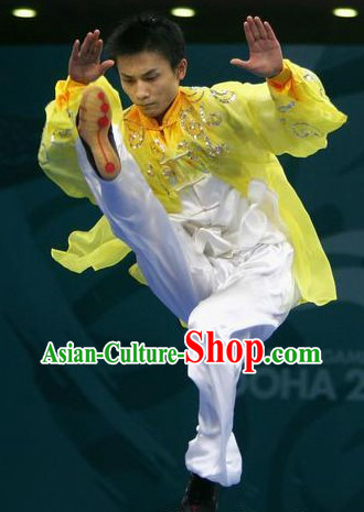 Top Chinese Kung Fu Wushu Uniform for Men