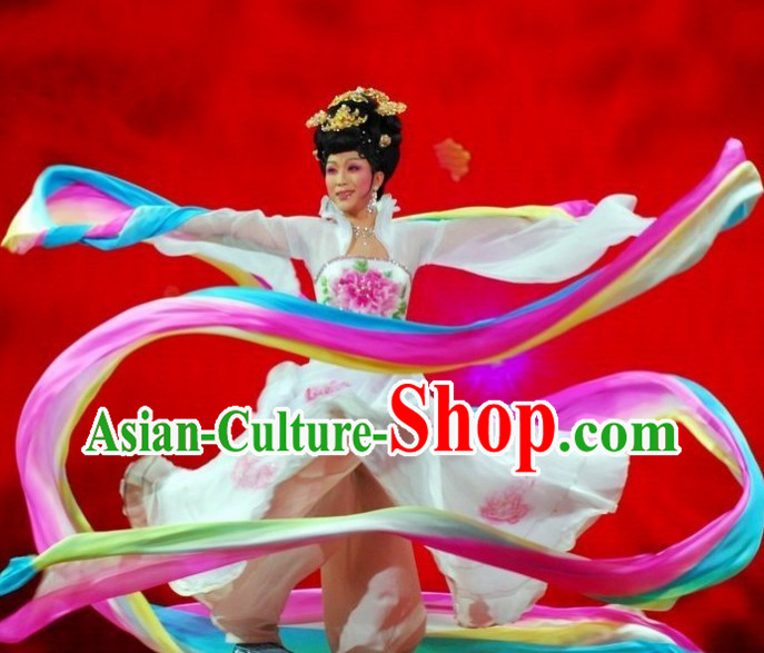 12 Meters Long Silk Ribbon Dance Props