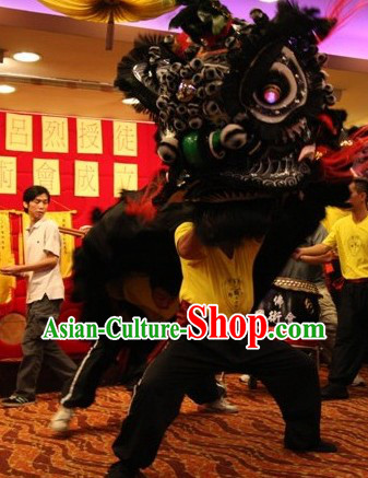 Supreme Fut San Zhang Fei Lion Dance Equipment Complete Set