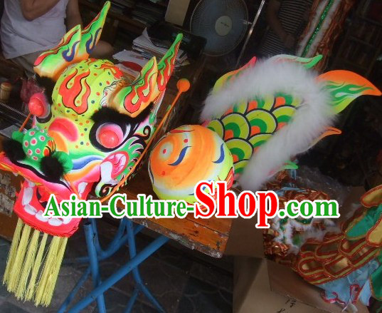 Chinese Grand Opening Fluorescent Dragon Dance Costume for Adults