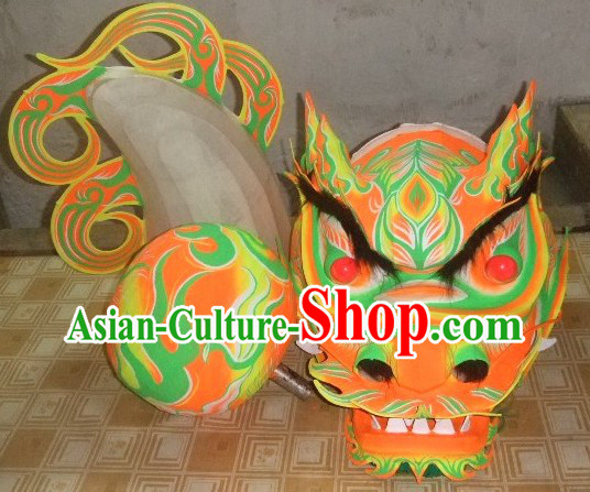 Chinese Dragon Costume Fluorescent Style for Parties
