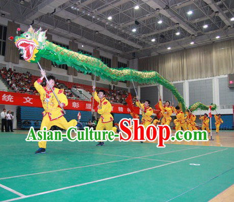 University Institute Dragon Dance Contest PE Lessons for Ten People