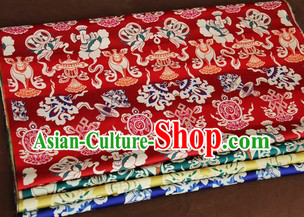 Traditional Chinese Tibetan Dresses Fabric