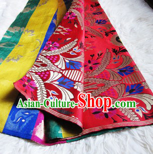 Traditional Chinese Tibetan Suit Fabric