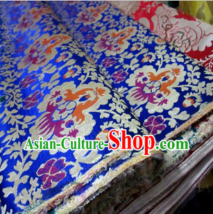 Traditional Chinese Tibetan Style Sofa Making Fabric