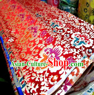 Traditional Chinese Tibetan Style Uniform Fabric