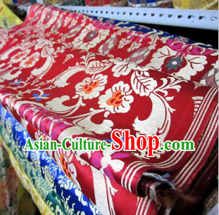Traditional Chinese Tibetan Style Minority Fabric