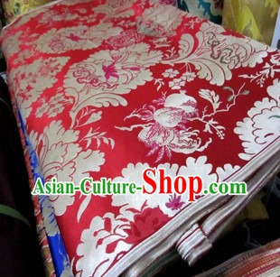 Traditional Chinese Tibetan Style Ethnic Fabric