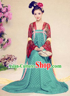 Ancient Chinese Tang Dynasty Clothing for Women