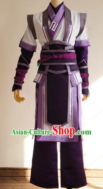 Ancient Legend of Sword and Fairy Swordsman Cosplay Clothes Complete Set
