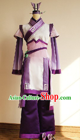 Ancient Legend of Sword and Fairy Swordswoman Cosplay Clothes Complete Set