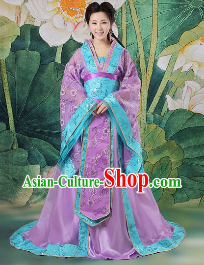 Ancient Chinese Wedding Bridesmaid Clothing Complete Set