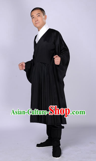 Traditional Chinese Black Hanfu Clothing for Men