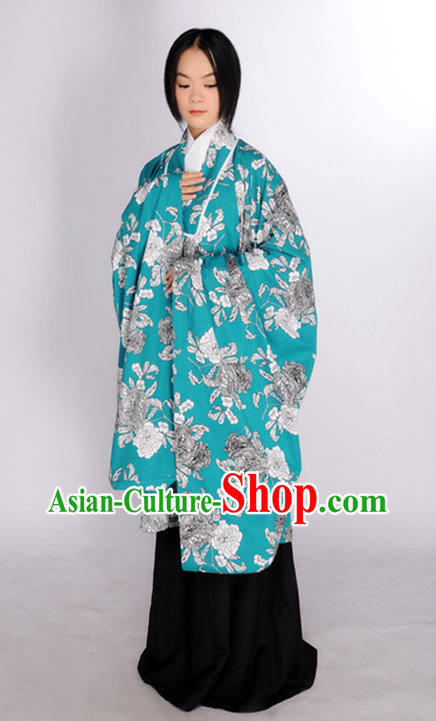 Ancient Chinese Wide Sleeves Clothing for Women