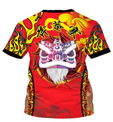 Dragon Dancer Performance 3D T-Shirt