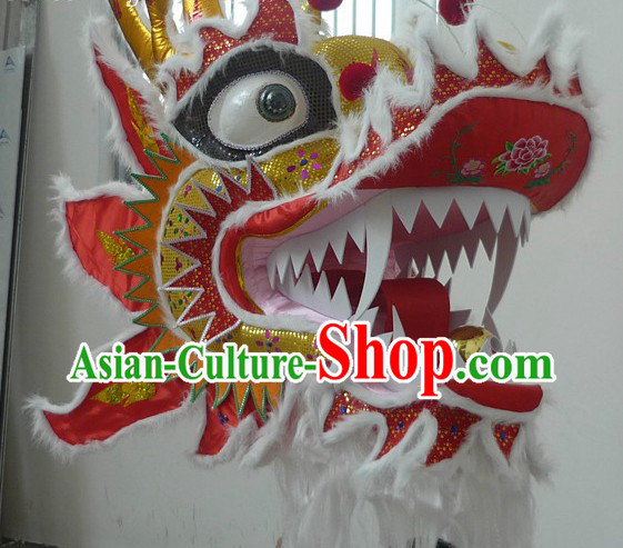 Traditional Chinese Southern Style Dragon Head