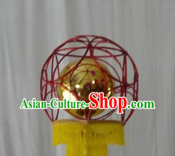 Traditional Chinese Dragon Dance Leading Ball
