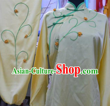 Tradiitional Chinese Silk Yong Chun Quan Suit for Women