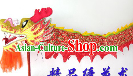 Handmade Chinese Classical Embroidery Dragon Dance Costumes