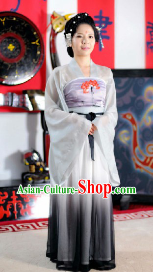 Traditional Ancient Chinese Han Dynasty Robe Skirt for Women