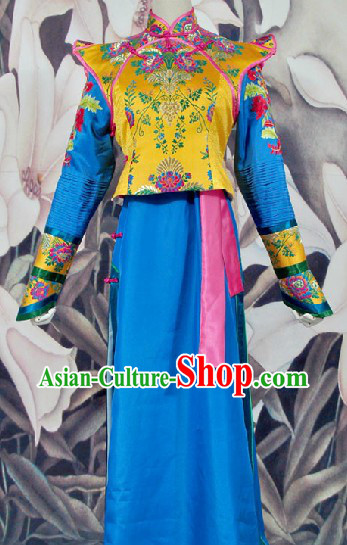 Traditional Chinese Shen Gong Die Ying TV Drama Qing Dynasty Princess Outfit