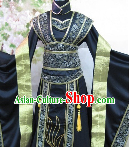 Ancient Chinese SD Black Costumes for Women