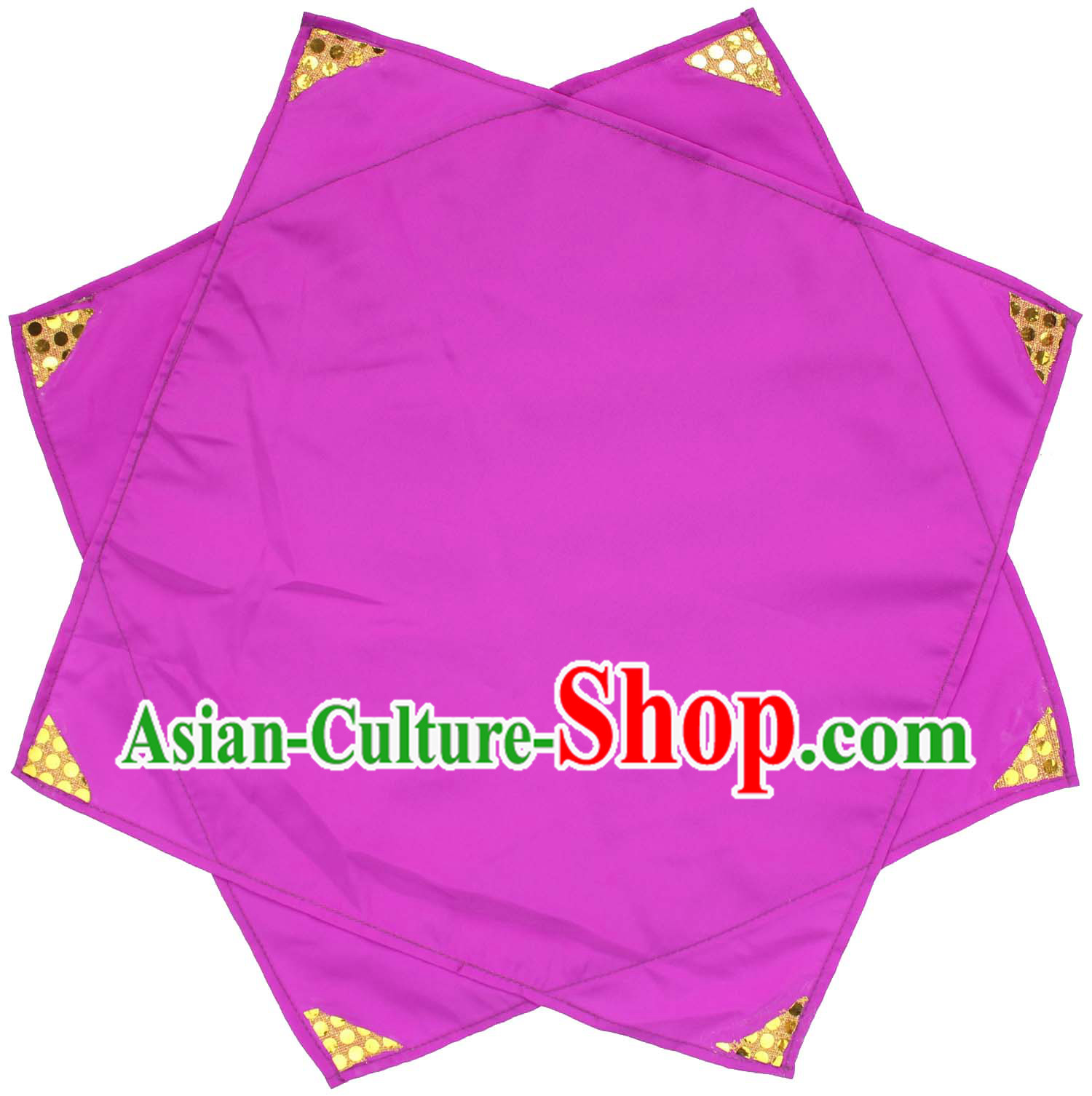 Traditional Chinese Purple Classical Dance Handkerchief