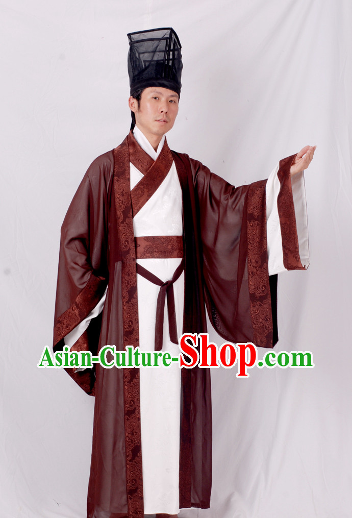 Ancient Chinese Han Dynasty Clothes Complete Set