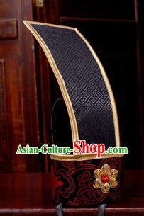 Ancient Chinese Tang Dynasty Tong Tian Guan Coronet for Men