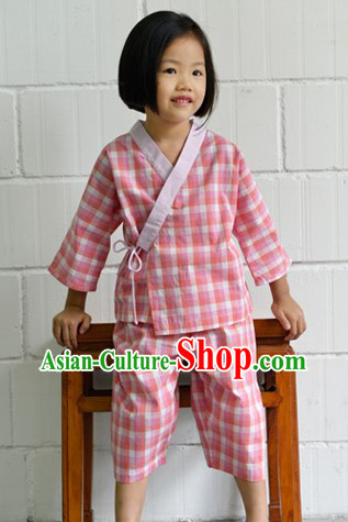 Traditional Ancient Chinese Cotton Guzhuang for Kids