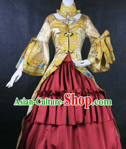 Ancient Chinese Princess Cosplay Outfit for Women