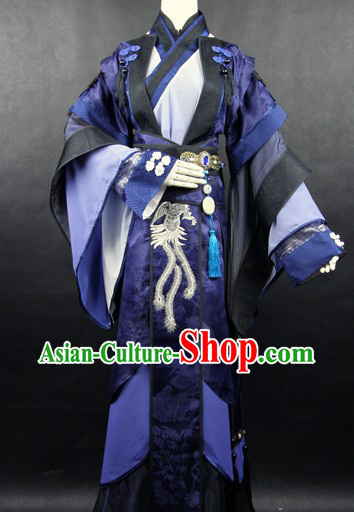 Ancient Chinese Legend Gong Fu Sifu Outfit for Men