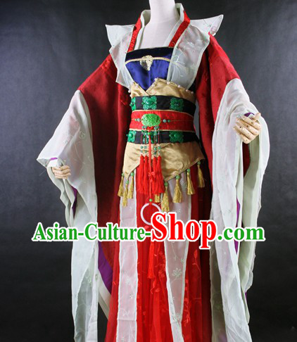 Traditional Ancient Chinese Princess Clothing Complete Set for Women