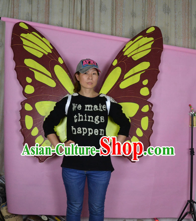 Super Big Stage Performance Adult Dance Butterfly Wings